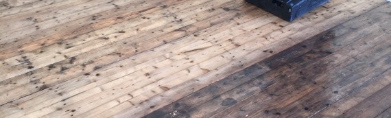 Professional floor clean