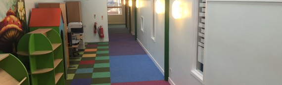 Carpet Fit Wales' work in schools