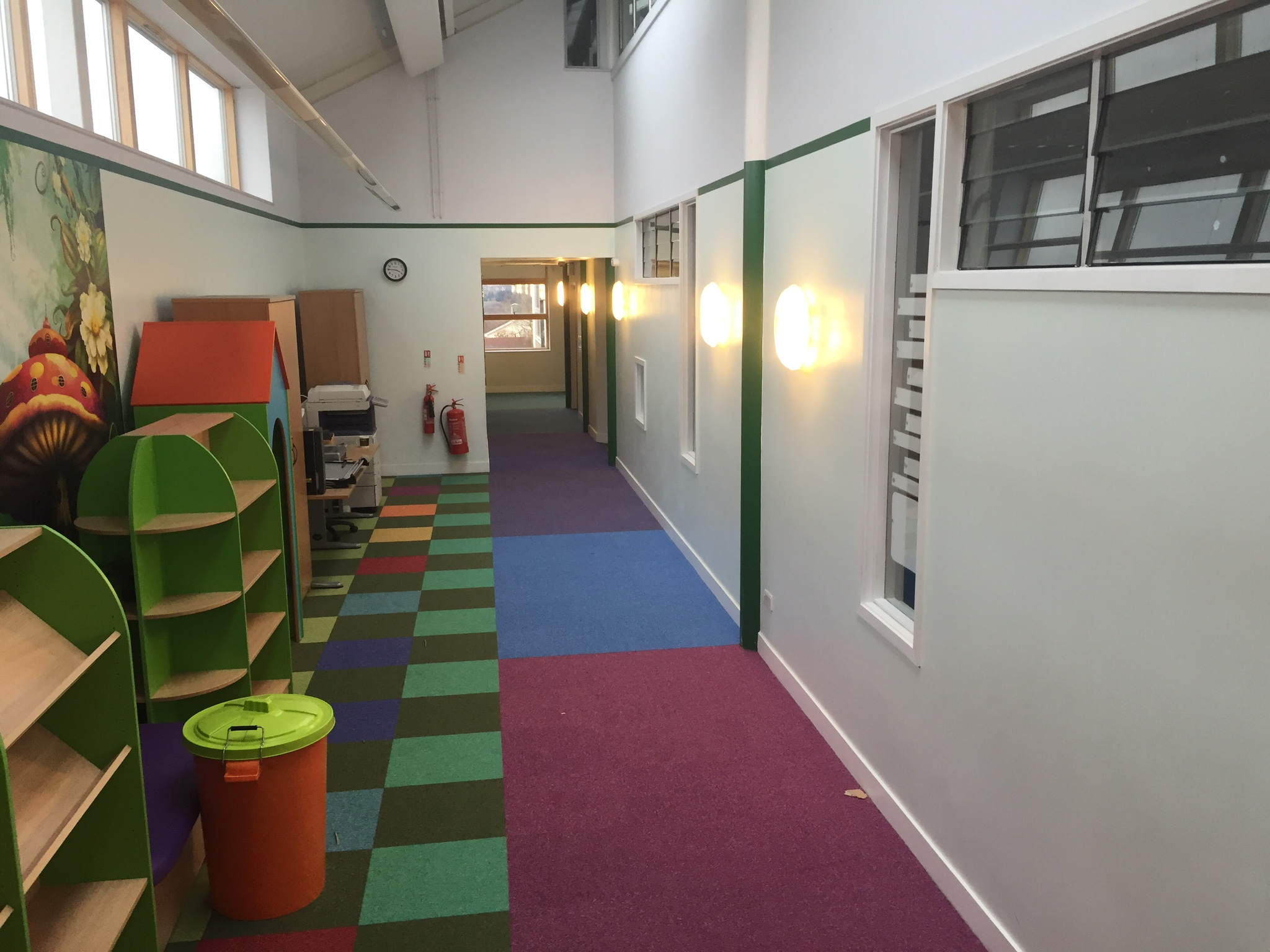 Carpet-Fit-Wales-Aberdare-South-Wales-Flooring-Carpets-LVT-Vinyl-Cleaning-Professional-School-Colourful schools