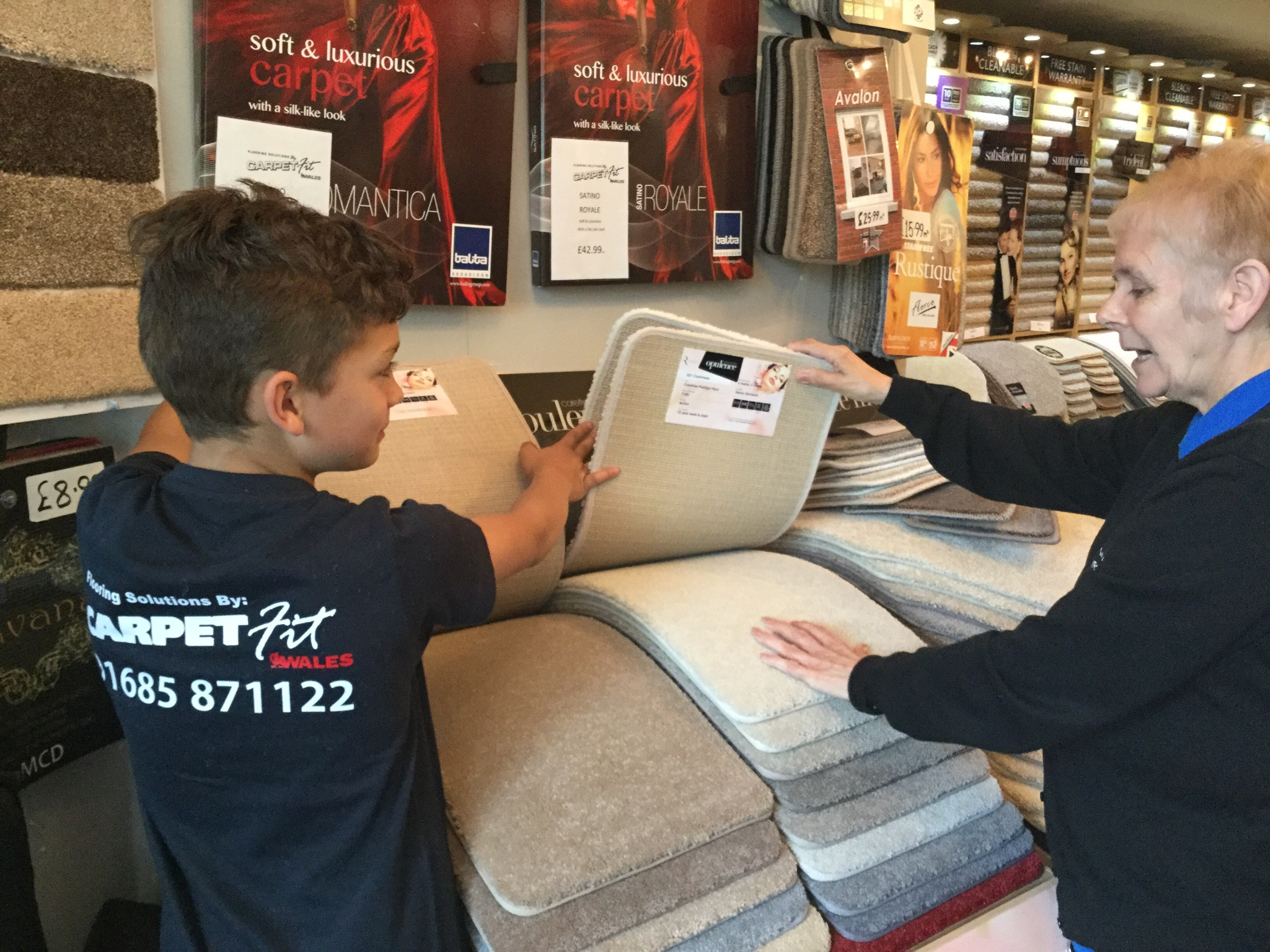 Carpet-Fit-Wales-Kids-Aberdare-South-Wales-Flooring-Carpets-LVT-Vinyl-Cleaning-Professional-Samples-Customer-Service show room