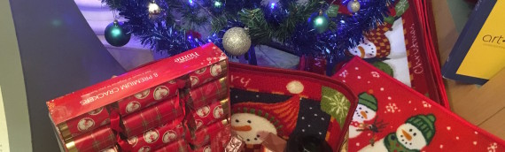 Carpet Fit Wales' Christmas Hamper Raffle 2016